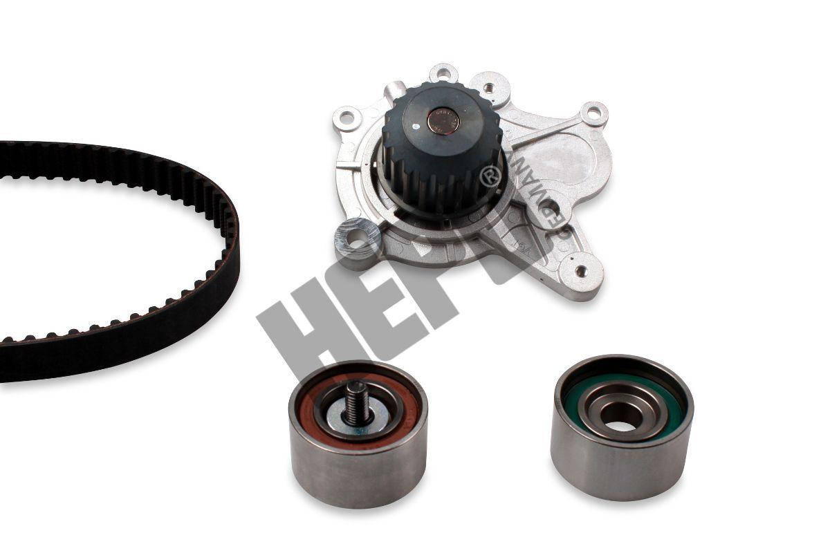 HEPU  PK77970 Water pump and timing belt kit Width: 28mm