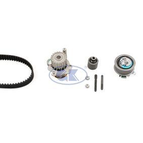 Bomba de Agua + Kit de Distribución SKODA FABIA Combi (6Y5) 1.9 TDI de Año 04.2000 100 CV: Bomba de agua + kit correa distribución (K980256A) para de GK