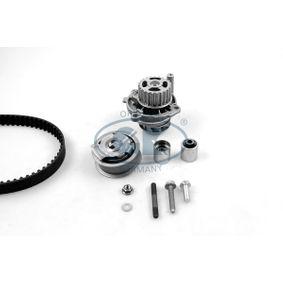 Wasserpumpe + Zahnriemensatz Breite: 23mm mit OEM-Nummer 06F 198 119 A