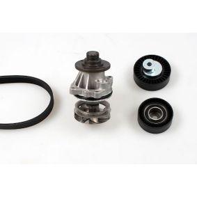 GK  K980513A Водна помпа + комплект пистови ремъци клиновидно оребряване