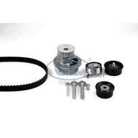Wasserpumpe + Zahnriemensatz Breite: 20mm mit OEM-Nummer 90444079