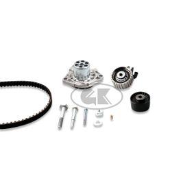 Wasserpumpe + Zahnriemensatz Breite: 24mm mit OEM-Nummer 1740079J81