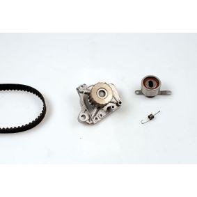 Honda CRX Targa 1.6 ESi (EH6) Wasserpumpe + Zahnriemensatz GK K981783B (1.6Si (EH6) Benzin 1996 D16Z6)