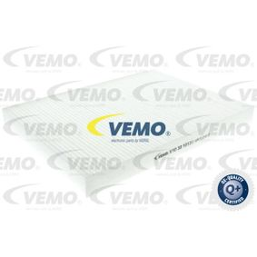 Golf 4 1.9TDI 4motion Innenraumfilter VEMO Q+, original equipment manufacturer quality V10-30-1013 (1.9TDI Diesel 2003 ARL)