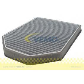 Filter, Innenraumluft Länge: 280mm, Breite: 203mm, Höhe: 28mm mit OEM-Nummer 4D0898438A
