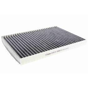 VEMO Filter, Innenraumluft V10-31-1040-1 für AUDI A3 (8P1) 1.9 TDI ab Baujahr 05.2003, 105 PS