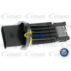 VEMO Luftmassenmesser V10-72-1025 für AUDI A4 (8D2, B5) 1.9 TDI ab Baujahr 03.2000, 116 PS