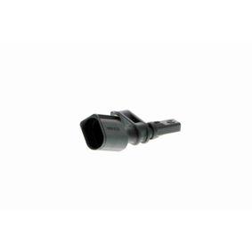 Sensor, Raddrehzahl Pol-Anzahl: 2-polig mit OEM-Nummer WHT003861