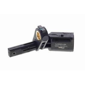 Sensor, Raddrehzahl Pol-Anzahl: 2-polig mit OEM-Nummer WHT003857