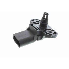 Bremskraftverstärker VW PASSAT Variant (3B6) 1.9 TDI 130 PS ab 11.2000 VEMO Drucksensor, Bremskraftverstärker (V10-72-1129) für