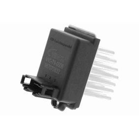 Regler, Innenraumgebläse für Fahrzeuge mit Klimaautomatik, Pol-Anzahl: 3-polig mit OEM-Nummer 1J0 907 521