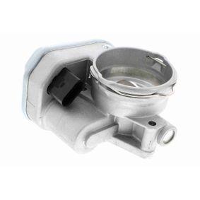 VEMO Drosselklappenstutzen V10-81-0011 für AUDI A3 (8P1) 1.9 TDI ab Baujahr 05.2003, 105 PS