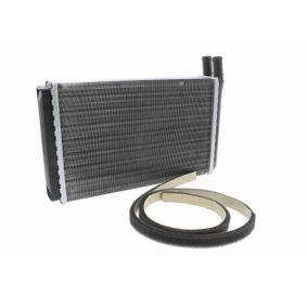 VEMO Wärmetauscher, Innenraumheizung V15-61-0002 für AUDI 80 (81, 85, B2) 1.8 GTE quattro (85Q) ab Baujahr 03.1985, 110 PS
