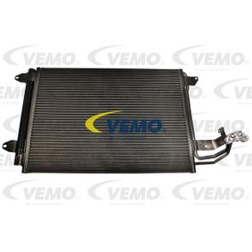 Kondensator, Klimaanlage Netzmaße: 540 x 400 x 16 mm mit OEM-Nummer 1K0 820 411 AC