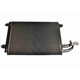 Kondensator, Klimaanlage Netzmaße: 540 x 400 x 16 mm mit OEM-Nummer 1K0 820 411H