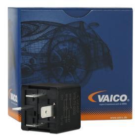 Relais, Klimaanlage VW PASSAT Variant (3B6) 1.9 TDI 130 PS ab 11.2000 VEMO Relais, Kühlerlüfternachlauf (V15-71-0002) für