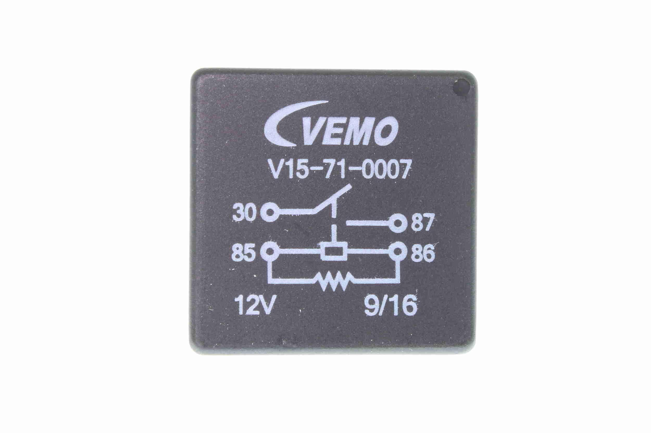 Relais, Kühlerlüfternachlauf VEMO V15-71-0007 Erfahrung