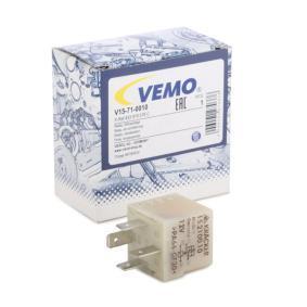 VEMO Relais, Klimaanlage V15-71-0010 für AUDI A4 (8E2, B6) 1.9 TDI ab Baujahr 11.2000, 130 PS
