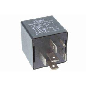 VEMO Relais, Wisch-Wasch-Intervall V15-71-0025 für AUDI 90 (89, 89Q, 8A, B3) 2.2 E quattro ab Baujahr 04.1987, 136 PS