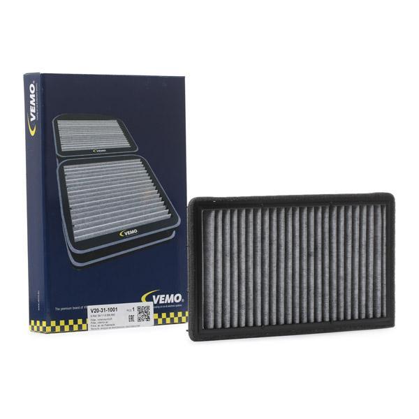 Filtro de Habitáculo V20-31-1001 VEMO V20-31-1001 en calidad original