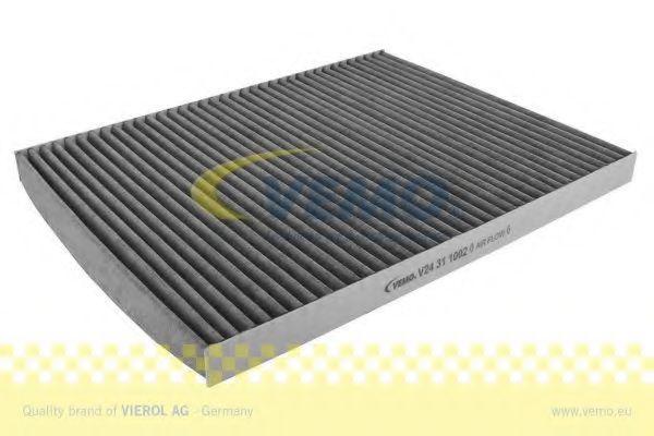 VEMO Original VEMO Qualität V24-31-1002 Filter, Innenraumluft Länge: 292mm, Breite: 226mm, Höhe: 21mm