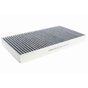 Filter, Innenraumluft Länge: 288mm, Breite: 160mm, Höhe: 30mm mit OEM-Nummer 2 995 965