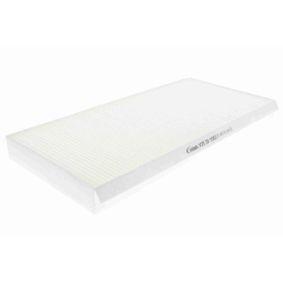 Filter, Innenraumluft Länge: 350mm, Breite: 160mm, Höhe: 30mm mit OEM-Nummer 1062253