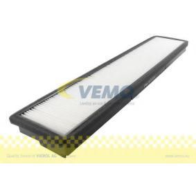 Filter, Innenraumluft Länge: 518,6mm, Breite: 107,5mm, Höhe: 29,5mm mit OEM-Nummer 3401 703