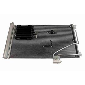Kondensator, Klimaanlage Netzmaße: 650 x 372 x 16 mm mit OEM-Nummer A203 500 13 54