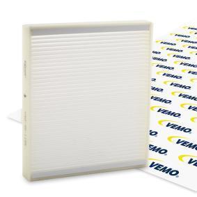 Filter, Innenraumluft Länge: 262,5mm, Breite: 235,5mm, Höhe: 30mm mit OEM-Nummer 93182436