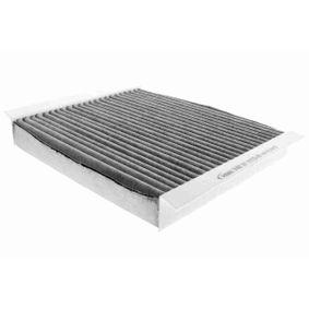 Filter, Innenraumluft Länge: 210mm, Breite: 240,5mm, Höhe: 32mm mit OEM-Nummer 1808 527