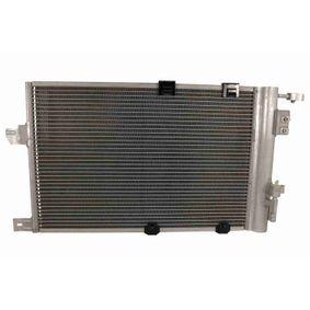 Kondensator, Klimaanlage Netzmaße: 530 x 382 x 16 mm mit OEM-Nummer 9118897