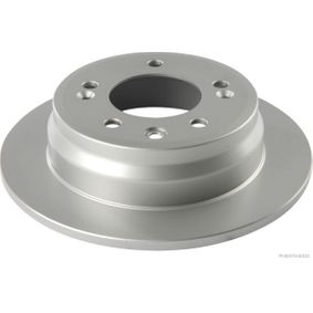 Brake Disc Brake Disc Thickness: 10mm, Num. of holes: 5, Ø: 262mm with OEM Number 5 841 11 H300