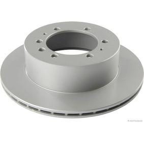 Composants Boite De Vitesse NISSAN PATROL GR I (Y60, GR) 4.2 CAT de Année 11.1988 165 CH: Disque de frein (J3311016) pour des HERTH+BUSS JAKOPARTS