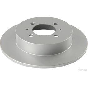 HERTH+BUSS JAKOPARTS Brake disc kit Solid, Coated