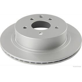Brake Disc J3311043 Qashqai / Qashqai +2 I (J10, NJ10) 1.6 dCi MY 2011