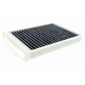Filter, Innenraumluft Länge: 248mm, Breite: 180mm, Höhe: 40,3mm mit OEM-Nummer 77 01 064 235