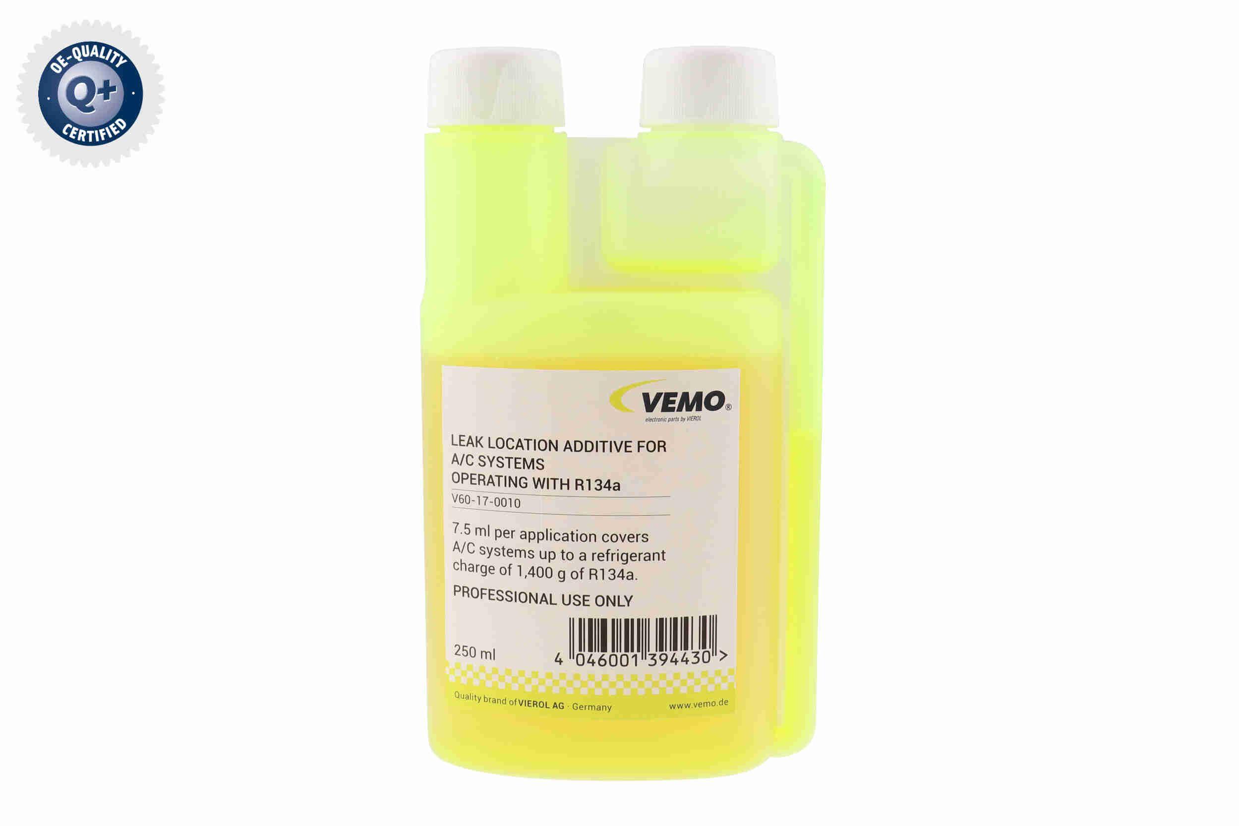 VEMO Q+, original equipment manufacturer quality V60-17-0010 Additiv, Lecksuche