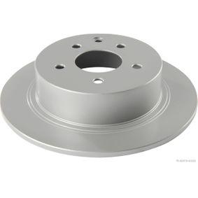 Brake Disc J3311050 Qashqai / Qashqai +2 I (J10, NJ10) 1.6 dCi MY 2012