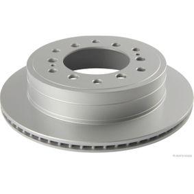 Disque de frein Épaisseur du disque de frein: 18mm, Nbre de trous: 6, Ø: 312mm avec OEM numéro 42431 60270