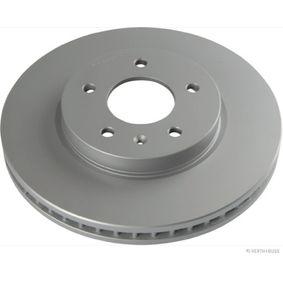 Bremsscheibe Bremsscheibendicke: 24mm, Lochanzahl: 6, Ø: 256mm mit OEM-Nummer 96215670
