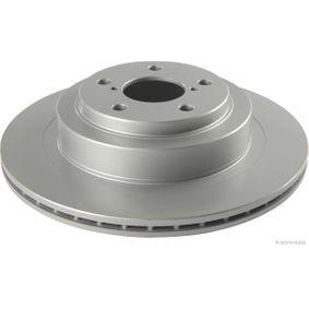 HERTH+BUSS JAKOPARTS  J3317005 Bremsscheibe Bremsscheibendicke: 18mm, Lochanzahl: 5, Ø: 290mm