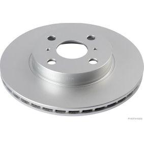 Disque de frein Epaisseur du disque de frein: 18mm, Nbre de trous: 4, Ø: 254mm avec OEM numéro 43512-16130