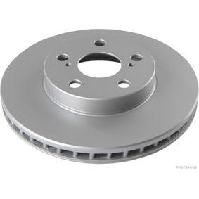 HERTH+BUSS JAKOPARTS  J3302126 Bremsscheibe Bremsscheibendicke: 25mm, Lochanzahl: 5, Ø: 255mm