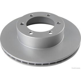 HERTH+BUSS JAKOPARTS  J3302130 Bremsscheibe Bremsscheibendicke: 22mm, Lochanzahl: 6, Ø: 320mm