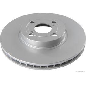 Disco de freno Eje delantero, Ø: 275mm, Ventilación interna, revestido J3302134
