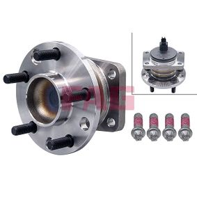 Wheel Bearing Kit Ø: 136,00mm with OEM Number 1 383 427