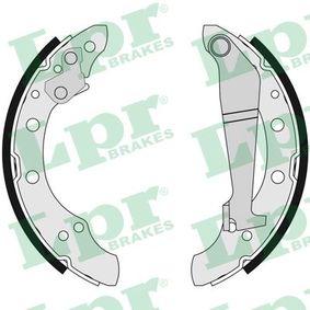 Bremsbackensatz Breite: 40mm mit OEM-Nummer 6Q0 609 628 B
