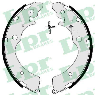 LPR  05690 Brake Shoe Set Width: 36mm