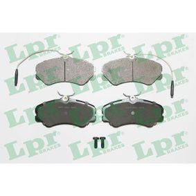 Bremsbelagsatz, Scheibenbremse Breite: 144,9mm, Höhe: 71,6mm, Dicke/Stärke: 19,5mm mit OEM-Nummer 4251-05